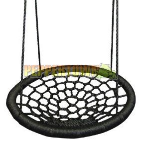 spider web swing outdoor 100cm diameter by peppertown online store. Black Bedroom Furniture Sets. Home Design Ideas