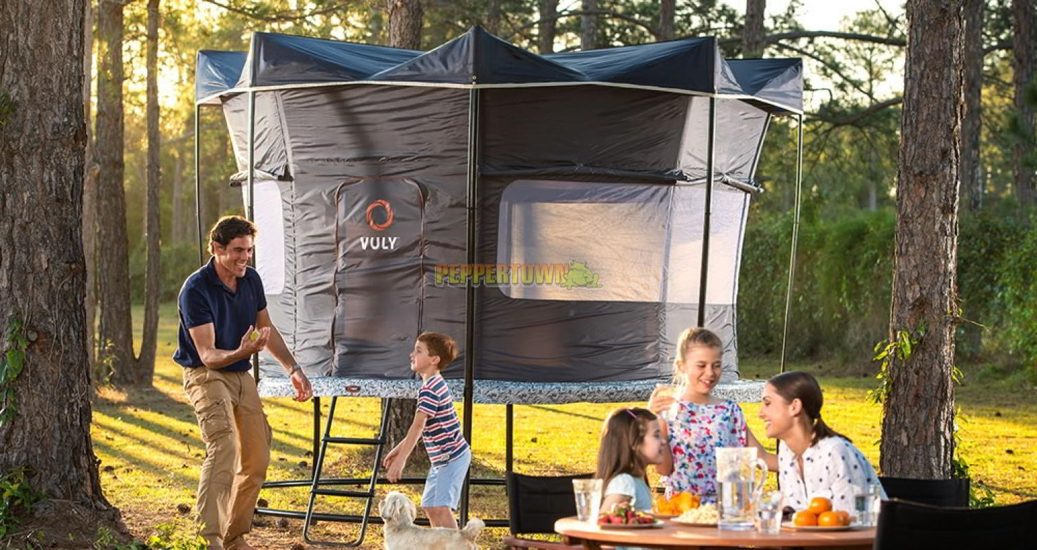 vuly 2 12ft deluxe tent by peppertown online store. Black Bedroom Furniture Sets. Home Design Ideas