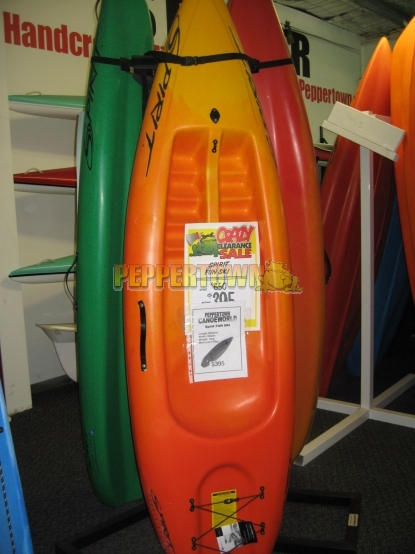 Spirit Funski Sit On Top Kayak By Peppertown Online Store
