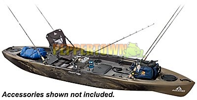 Ascend Fs128t Sit On Top Fishing Kayak By Peppertown