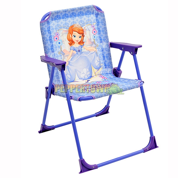 Sofia The First Princess From Within Folding Chair   By PEPPERTOWN Online  Store