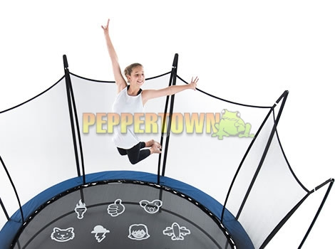 Vuly 2 12ft Trampoline With Safety Net And Free Tent