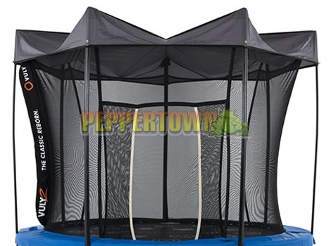 Vuly 2 - 12ft Tr&oline with Safety Net and Free Tent - by PEPPERTOWN online store : vuly trampoline tent - memphite.com