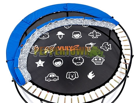 Vuly 2 14ft Trampoline With Safety Net And Free Tent
