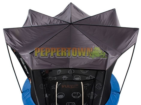 Vuly 2 - 10ft Tr&oline with Safety Net and Free Tent - by PEPPERTOWN online store  sc 1 st  Playground Accessories & Vuly 2 - 10ft Trampoline with Safety Net and Free Tent - by ...