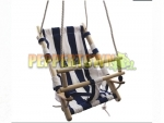 Canvas Baby Swing- My First Swing (Blue)