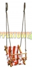 Canvas Baby Swing- My First Swing (Red)