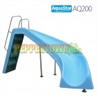 AQ200 Water Slide - Right Curve (Blue)