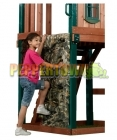 Playground Climbing Wall Panel- Realtree Camo