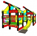 Toddlers Gym Scrambler