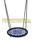 Outdoor Blue and Black 100cm Nest Swing