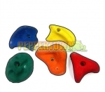 Climbing Rock Holds- LARGE (Set of 5)