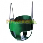 Cubby House Full Bucket Swing - Green