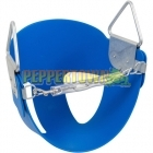Half Bucket Swing Seat - Durable Plastic (Blue)