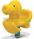 Hound Dog Spring Toy- Yellow