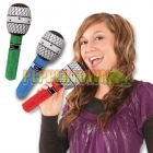 "Inflatable 10"" Microphones"