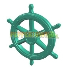 Giant Pirate Ship Wheel- GREEN