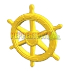 Giant Pirate Ship Wheel- YELLOW