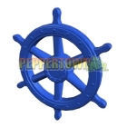 Giant Pirate Ship Wheel- BLUE