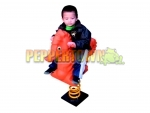 Sea Horse Ride-on Kids Toy – ORANGE-