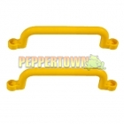 Playground Plastic Handle YELLOW- long (pair)