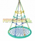 Outdoor Climbing Nest Swing 100cm Diameter Multi coloured