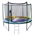 Playstar 10ft Trampoline includes FREE Ladder, Net and Anchors