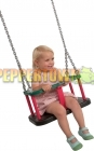 Rubber Baby Swing Seat with Galvanised Chain