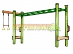 SKM3 3m Monkey Bar+ (Green)