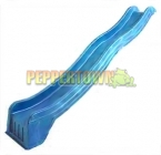 SL2 Slimline 3.2m Wave Slide- BLUE