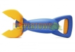 The CLAW Sandpit Toy - Blue with Yellow Bucket