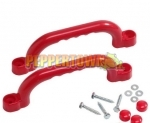 Short Playground Handles -RED (pair)