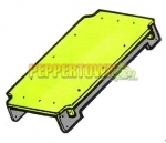 Waterslide Square Deck Assembly