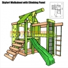 Skyfort Walkabout with Climbing panel
