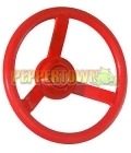 Playground Steering Wheel- Ferrari RED