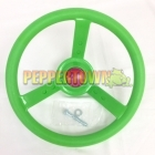 Steering Wheel- Lurid Lime