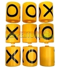 9 Piece Tic Tac Toe- SET (includes mounting rods)