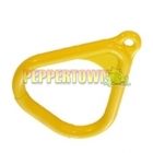 Trapeze Plastic Handles- YELLOW  (sold in pairs)