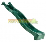 Slimline Wave Slide with Water Attachment - Green