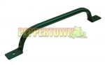 Powdercoated Steel Grab Handles GREEN - 600mm Long