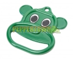 Plastic Bear Ring- Green (each)