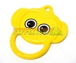 Plastic Monkey Ring - Yellow