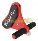 Zipline Fun Replacement Trolley Handle - Red