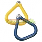 Plastic Coated Aluminium Grips TRIANGLE- Yellow (each)