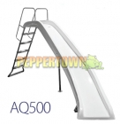 AQ500 Waterslide - Right Curve (White)