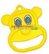 Plastic Bear Ring- Yellow (each)