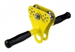 Hornet Zipline Trolley with Handle - Yellow (DIY up to 12mm cable, 150kgs)