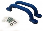 Short Playground Handles- BLUE (pair)