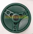 Solid Plastic Steering Wheel - Jaguar Green