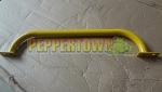 Powdercoated Steel Grab Handles YELLOW - 600mm Long